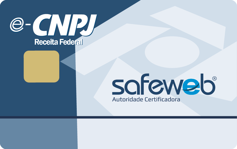 Safeweb Certificado Digital, e-CNPJ, Certificado Digital